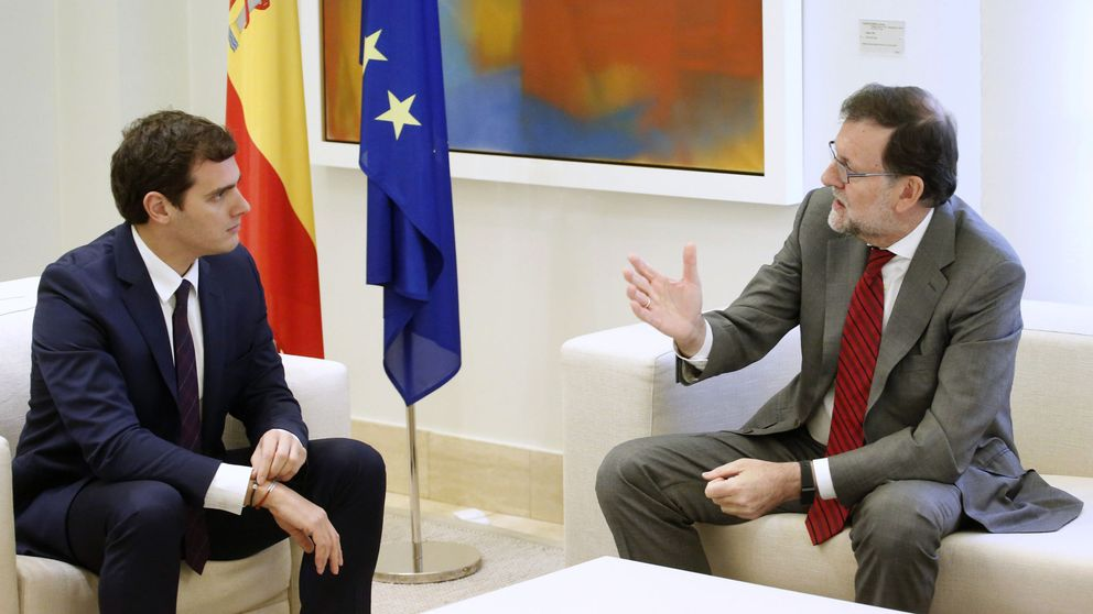 Rivera plantea una hoja de ruta reformista a PP y PSOE para iniciar la legislatura