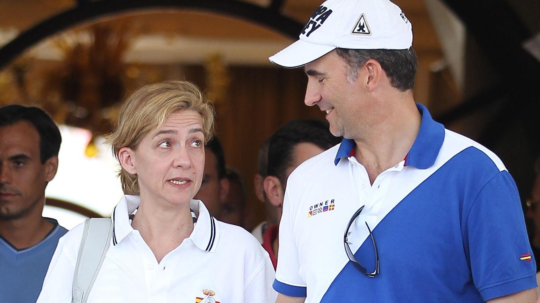 Foto: Don Felipe y la infanta Cristina, en una imagen tomada en 2011 (Gtres)