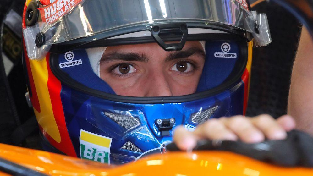 Foto: Carlos Sainz acabó satisfecho con el resultado en Bakú. (Reuters)