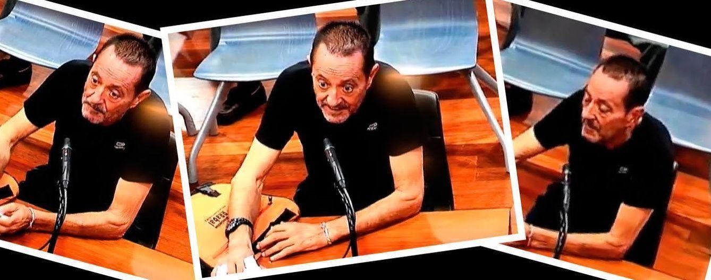 Foto: Imágenes de Julián Muñoz durante su declaración