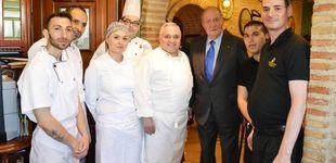 Post de El Rey, tras su ruta Michelin, se deja seducir por el mejor cocido del mundo