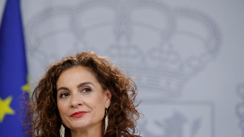 La ministra María Jesús Montero, el pasado 21 de enero en la Moncloa. (EFE)
