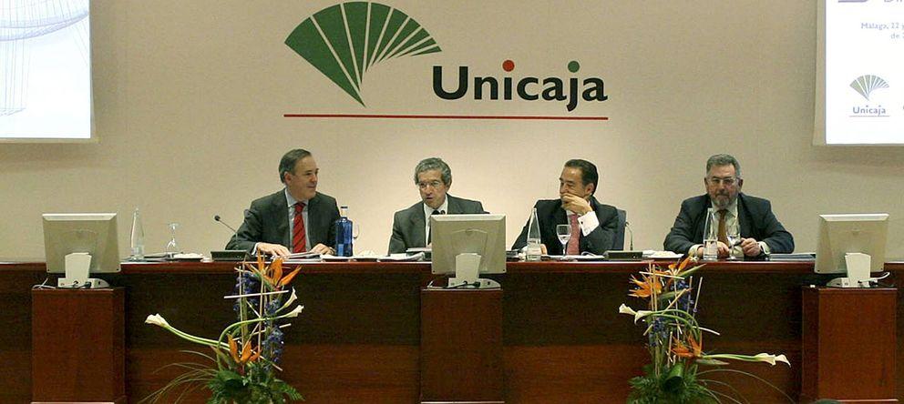 Foto: Manuel Atencia, Braulio Medel, Miguel Ángel Cabello y Ramón Sedeño, en una foto de archivo. (Efe)