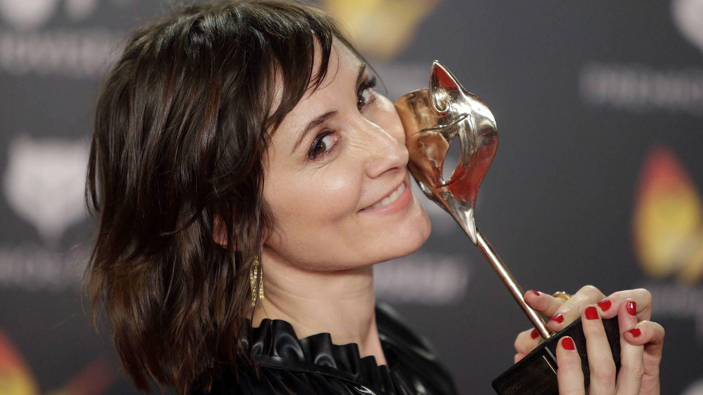 Nathalie Poza en los Premios Feroz.(Gtres)