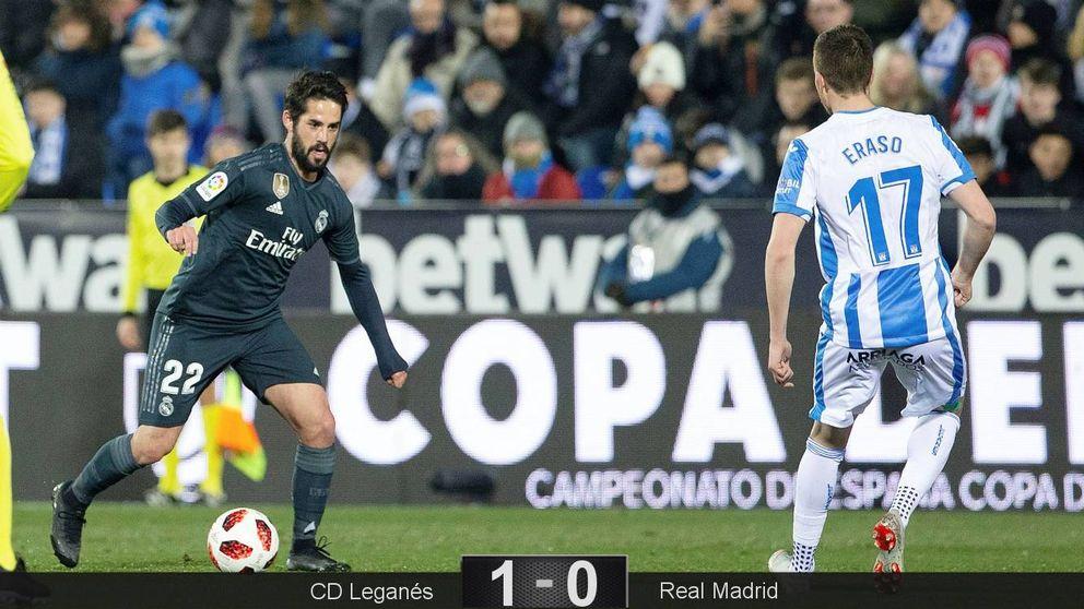 La chapuza del Real Madrid en Leganés o por qué pide a gritos un '9'