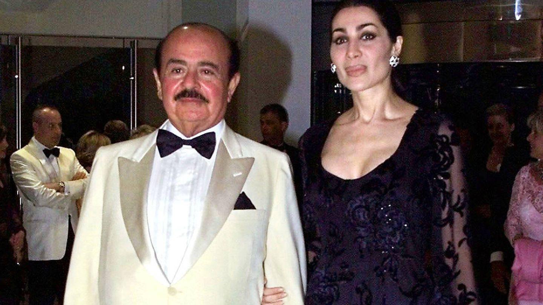 Shahpari Zanganeh y Khashoggi, en una imagen de archivo. (Reuters)