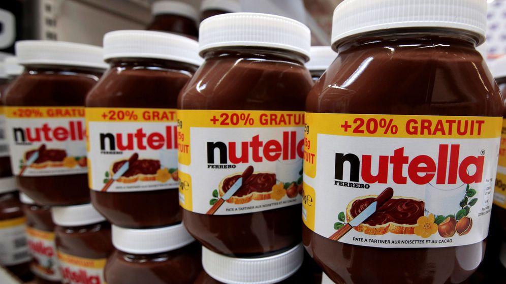 Foto: Botes de Nutella en un hipermercado de Carrefour en Niza (Francia) | Foto: Reuters