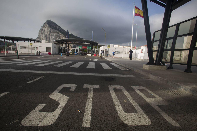 Foto: La entrada a Gibraltar (Foto: Fernando Ruso).