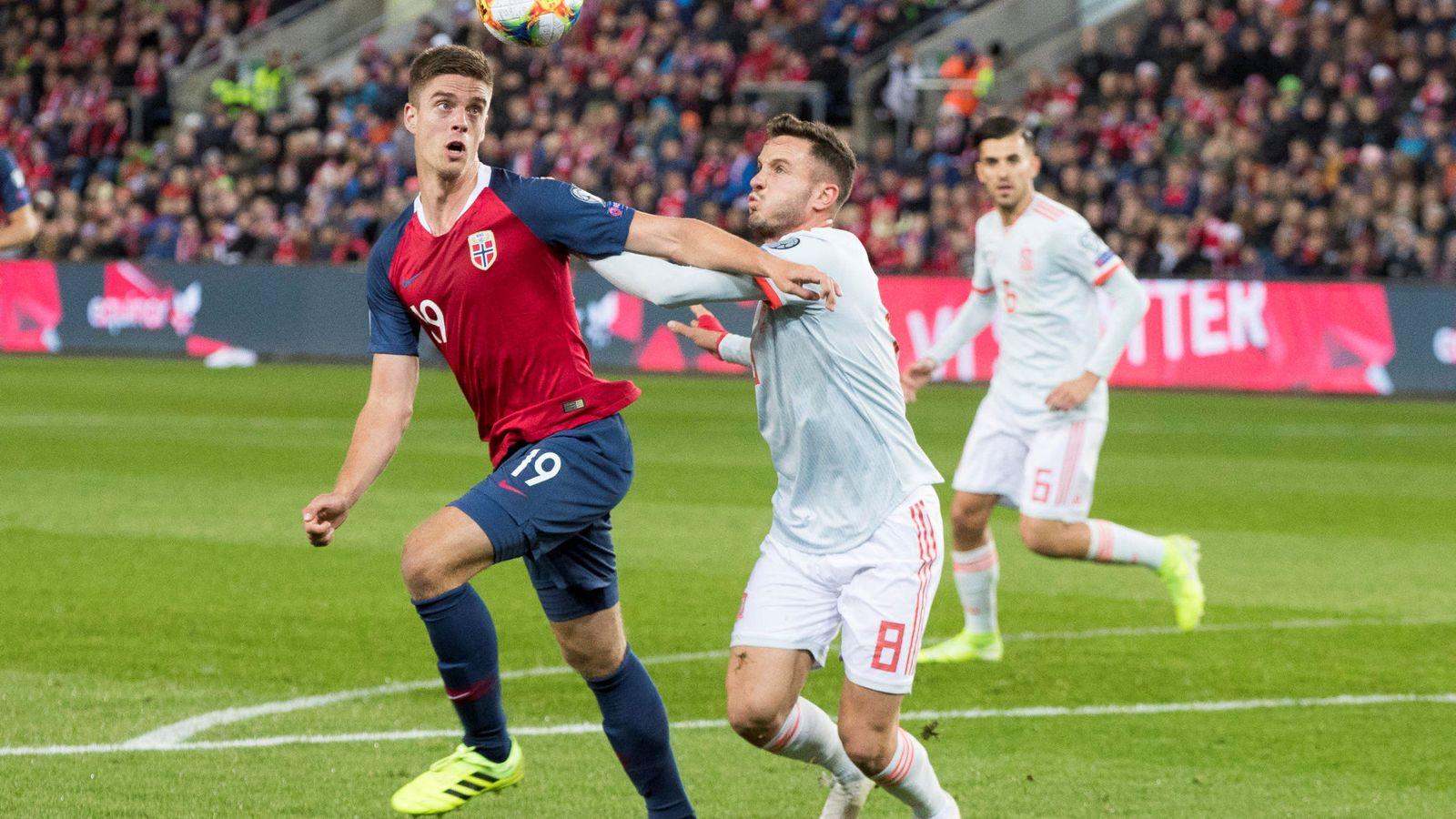 Foto: Soccer - euro 2020 qualifier - norway v spain - group f