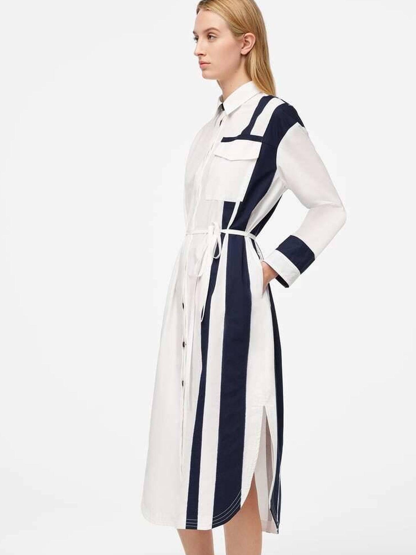Vestido de Zara SRLPS. (Cortesía)