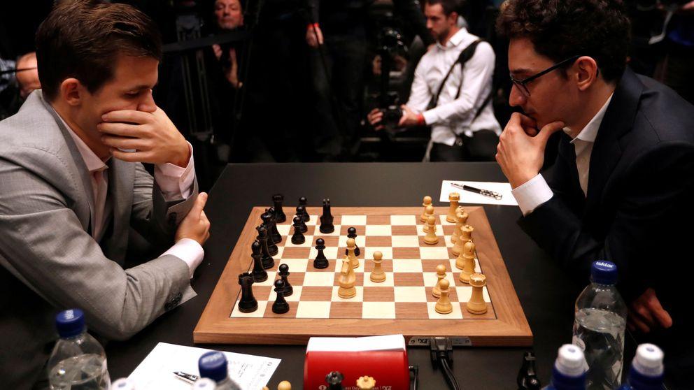 El descarado repaso de Carlsen a Caruana en la fase rápida de la histórica final de ajedrez