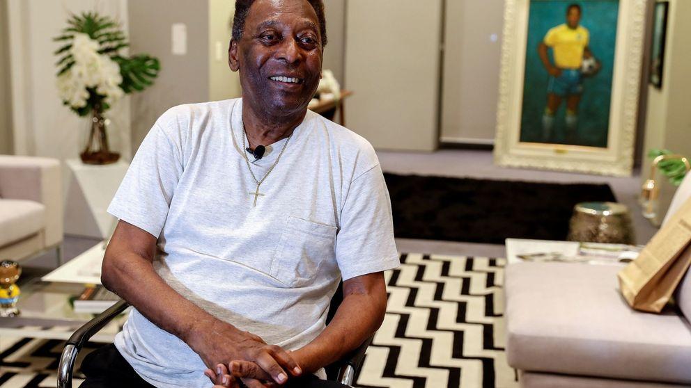 El estado de Pelé: necesita un andador y no quiere salir de casa por vergüenza