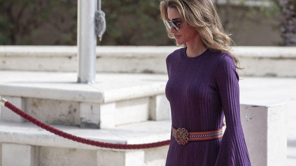 Foto: La reina Rania, en la apertura del Parlamento de Jordania. (EFE)