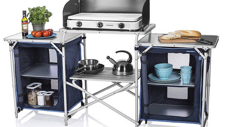 Cocina de camping Málaga Campart Travel KI-0732