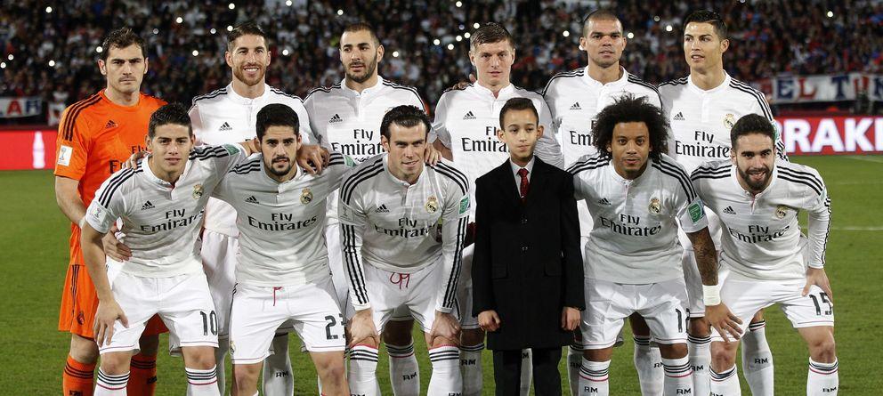 Foto: El Real Madrid, campeón del Mundo doce años después