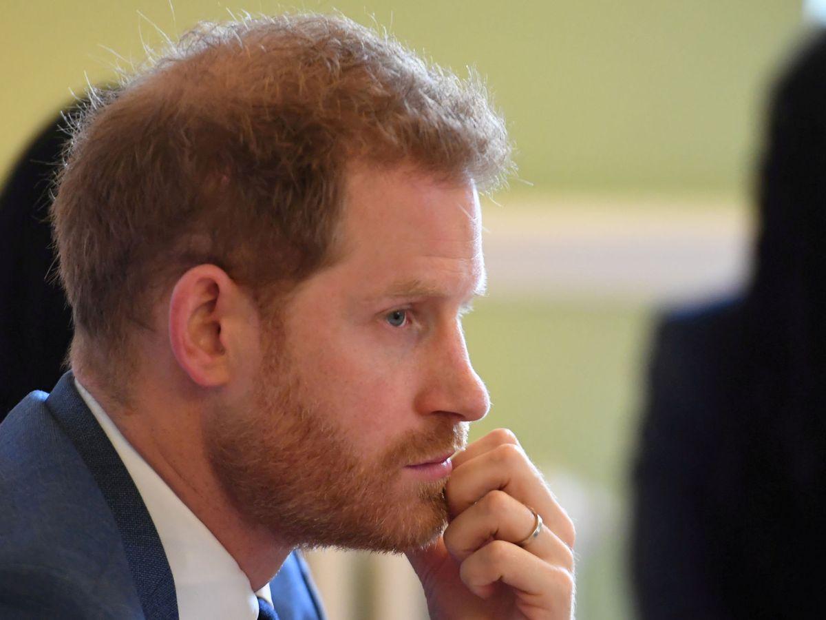 Foto: EL duque de Sussex. (EFE)
