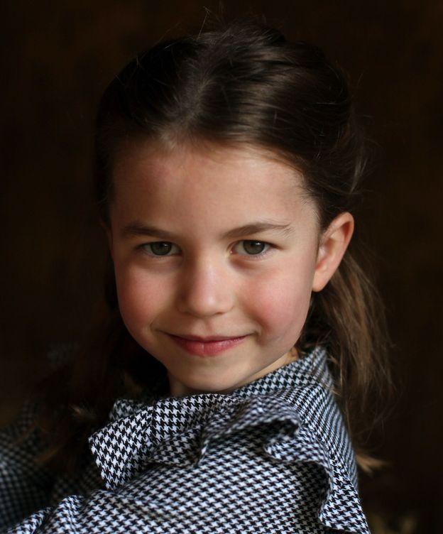 Foto: La princesa Charlotte, en su quinto cumpleaños. (Palacio de Kensington)
