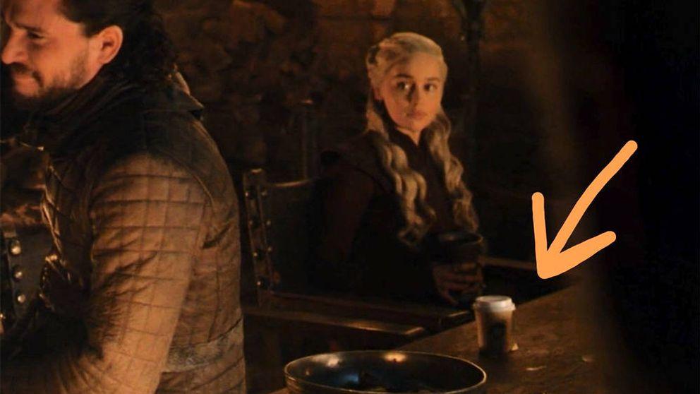 Un café de Starbucks se cuela por error en el último capítulo de 'Juego de tronos'
