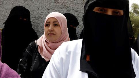 Manifestación de sanitarios yemeníes