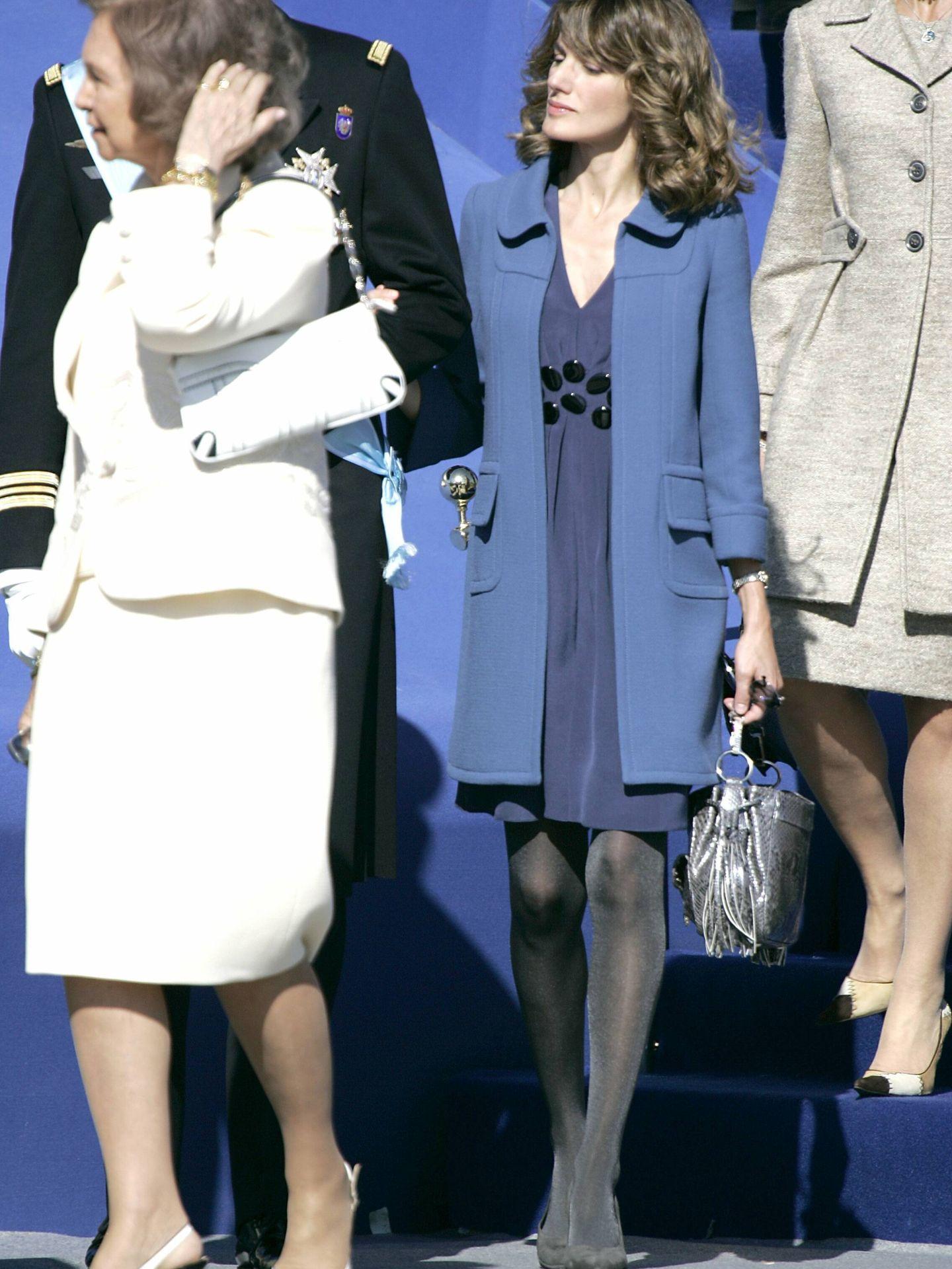 Doña Letizia, en 2007. (CP)