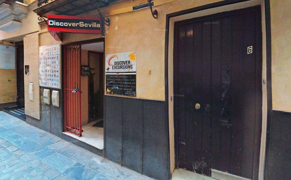 Foto: Sede de la agencia de viajes Discover Excursions en Sevilla, propiedad de Manuel Blanco. (Google)