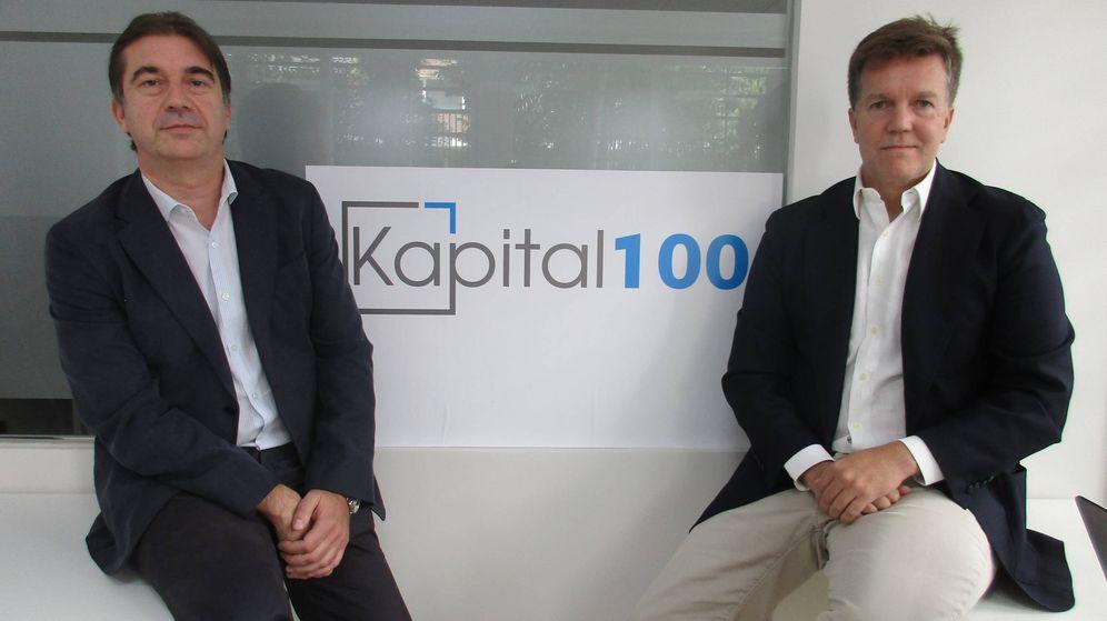 Foto: Javier Rodríguez (i.) y Antonio Carballo (d), fundadores de Kapital100.