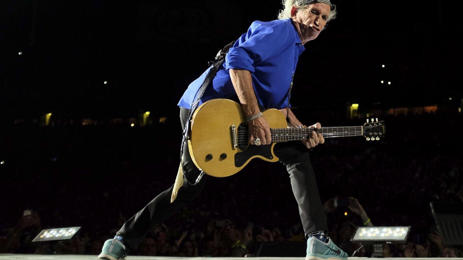 Foto: Keitch Richards en concierto (REUTERS)