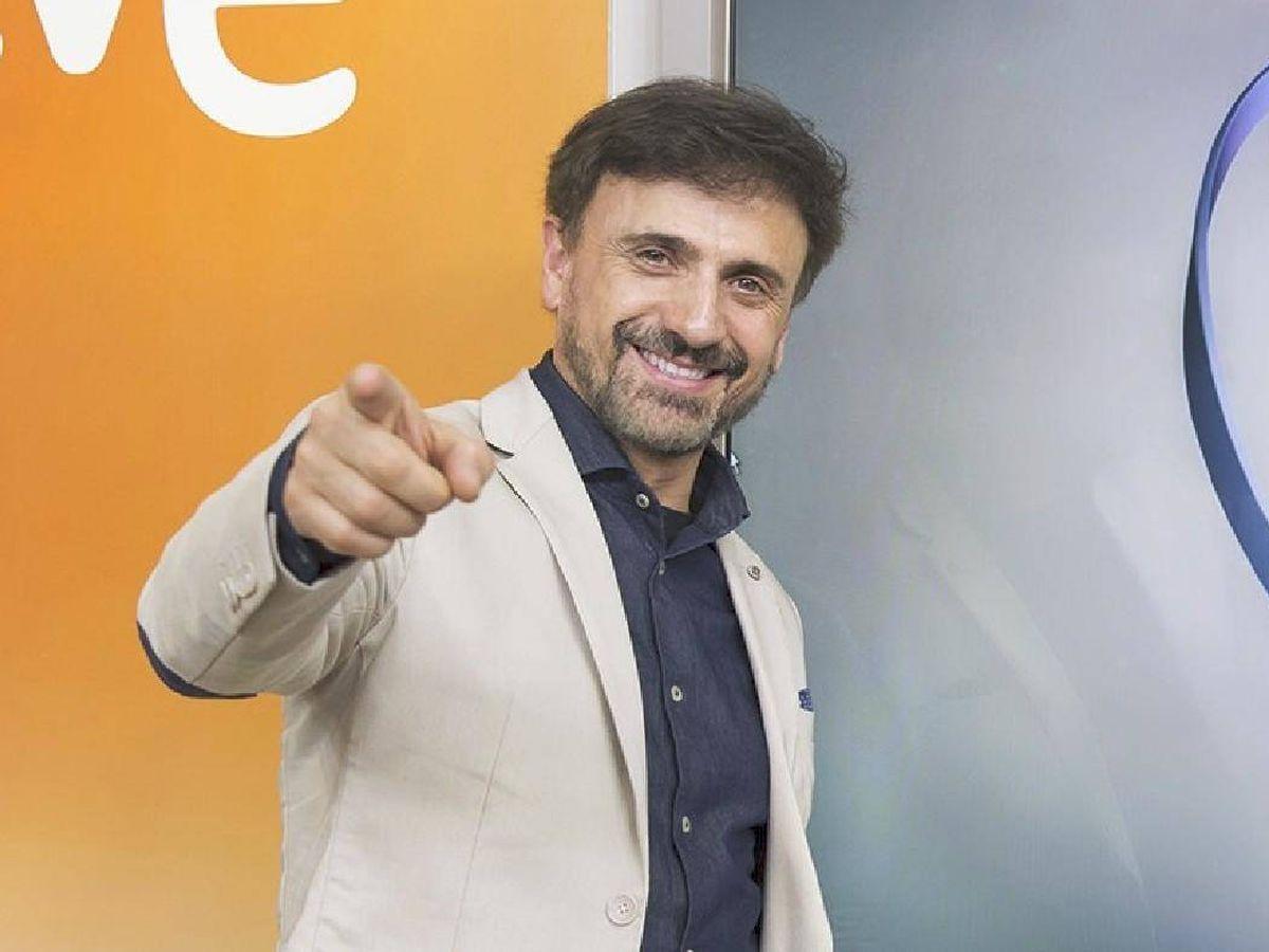 Foto: José Mota, en la presentación de 'Hoy no, mañana'. (TVE)