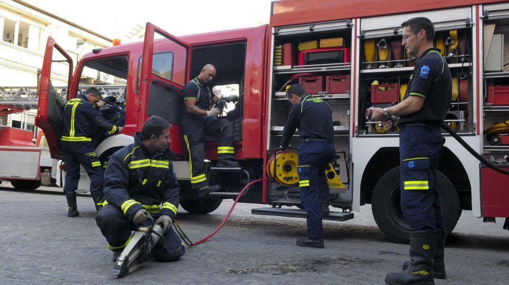 Foto: Los bomberos del Ayuntamiento de Madrid han recibido un curso de formación para el manejo de redes sociales.