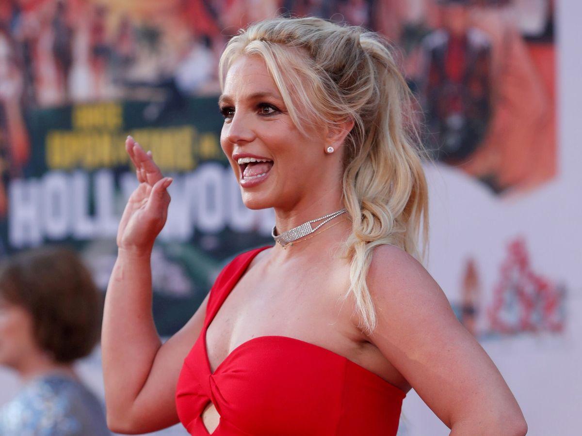 Foto: Britney Spears, al llegar a una presentación cinematográfica en 2019. (REUTERS)