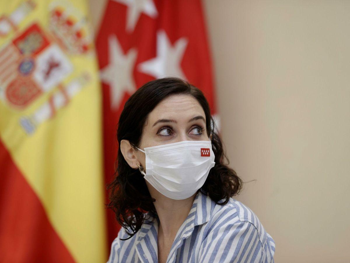 Foto: La presidenta de Madrid, Isabel Díaz Ayuso. (EFE)