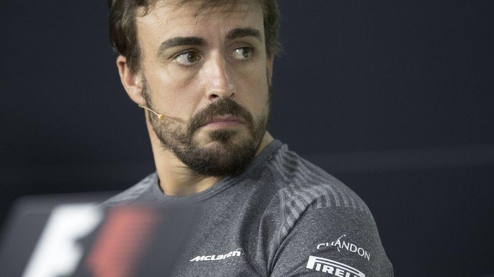 Foto: Fernando Alonso, en la rueda de prensa del GP de Australia. (EFE)