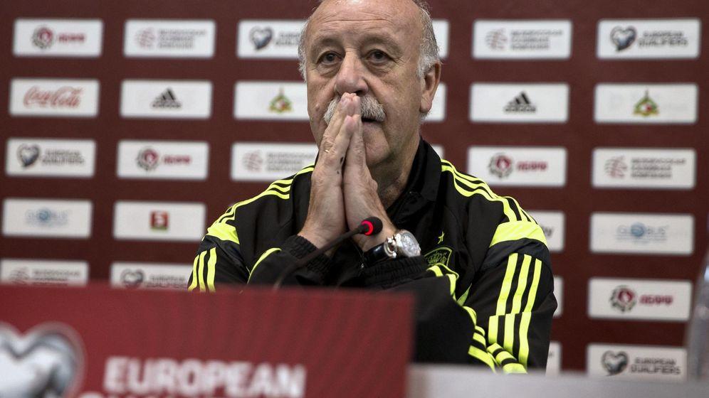 Foto: Del Bosque, en la última concentración de la selección (Reuters)