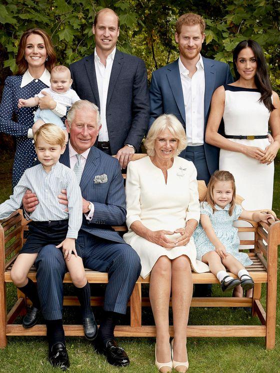 La familia del príncipe Carlos. (Reuters)
