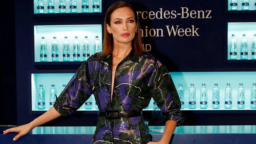 Foto: Nieves Álvarez, durante el evento de Fontbella, marca de la que es embajadora. (Cortesía)