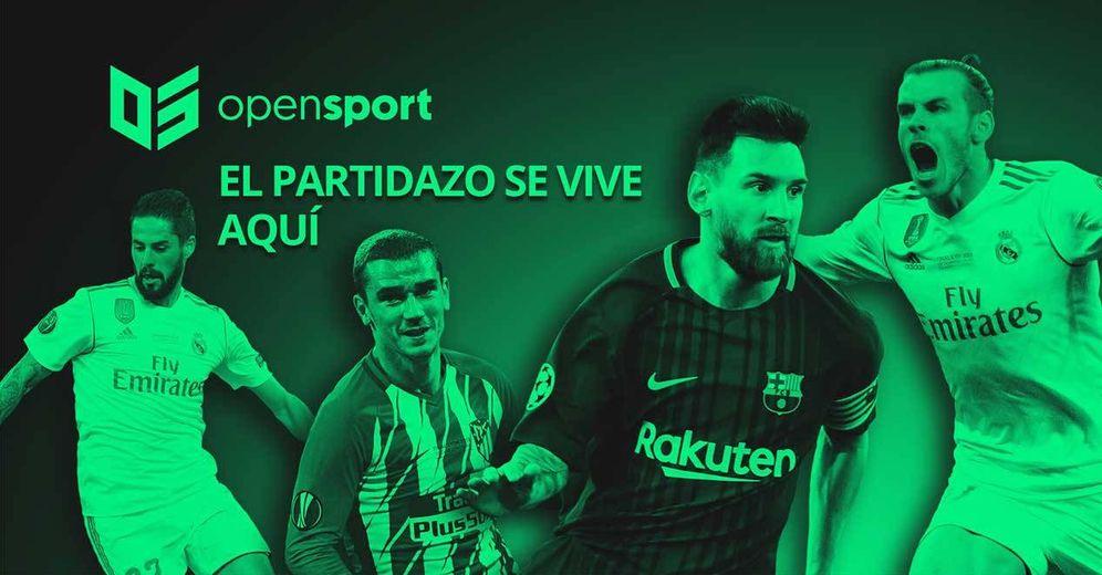 Foto: Anuncio de Opensport promocionando el canal Movistar Partidazo.