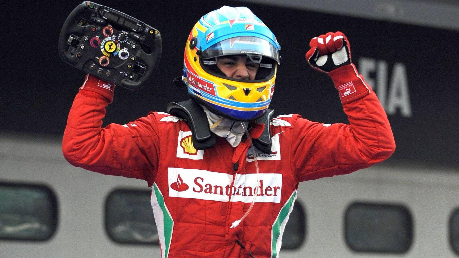 Foto: Fernando Alonso obtuvo una de sus mejores victorias en el Gran Premio de Malasia de 2012. (Ferrari)