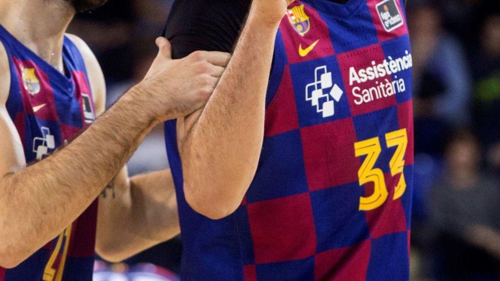 Golpe del Barcelona al baloncesto: pide a sus jugadores que renuncien al 70% de su sueldo