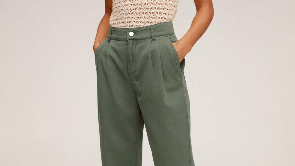 Este pantalón de Mango que adelgaza es ideal para verano y se agota sin parar