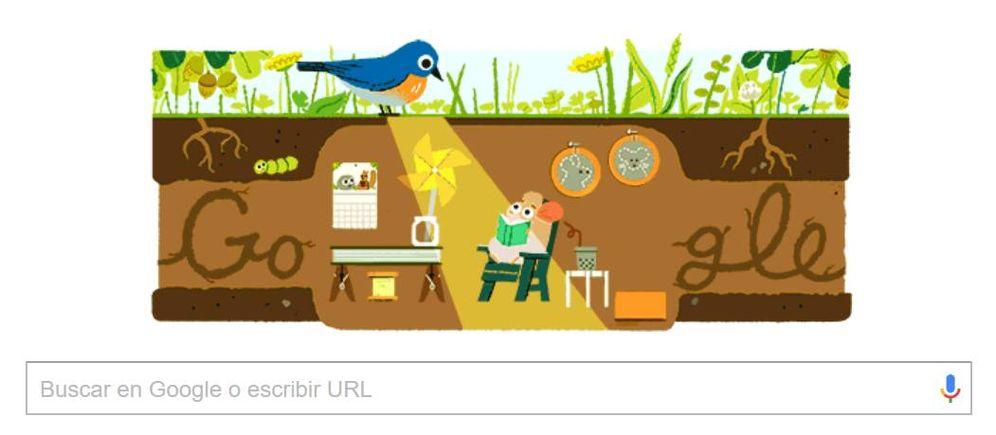 Foto: Así es el 'doodle' de Google que anuncia el solsticio de verano