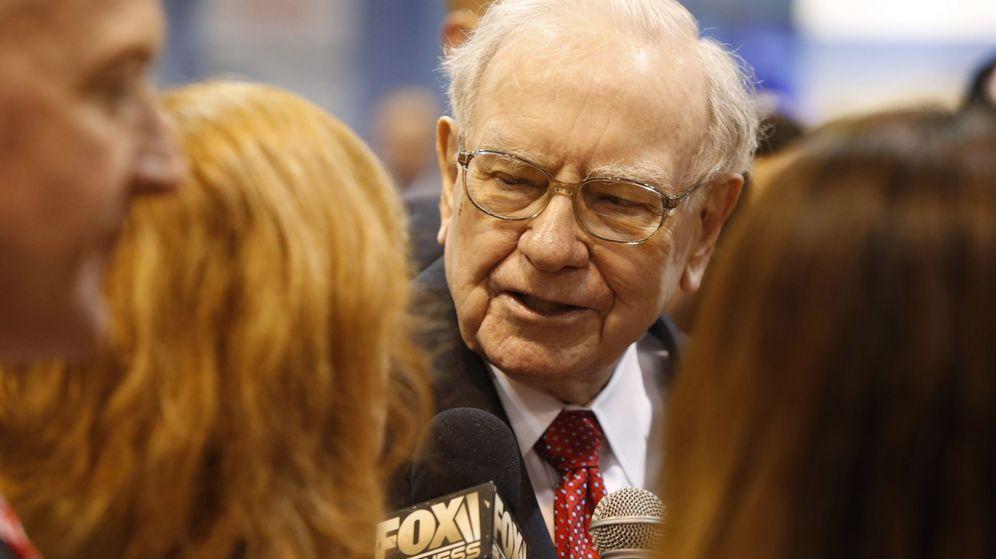 Foto: El inversor Warren Buffett en la conferencia anual de Berkshire Hathaway en Omaha. (Reuters)