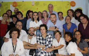 Teresa Romero, muy feliz tras abandonar el aislamiento