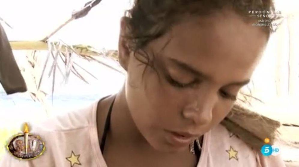 Foto: Gloria Camila llora en 'Supervivientes' ante la necesidad de estar con su familia.