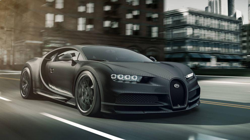 Así es el coche más exclusivo del mundo: solo 20 ricos para el Bugatti Chiron Noire