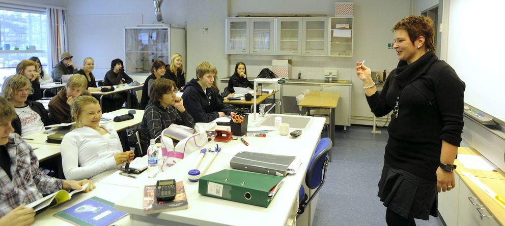 Foto: Finlandia y Corea del Sur tienen los escolares más capaces, según la OCDE. (Efe)