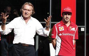 Montezemolo, sin sobresaliente para Alonso: Es un ocho sobre diez