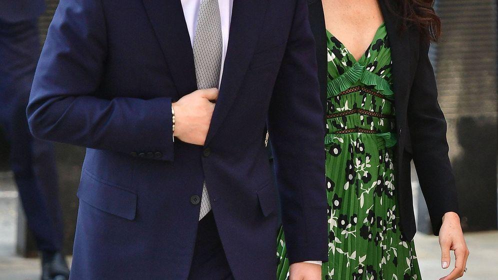 Foto:  El príncipe Harry y Meghan, en Londres. (Gtres)