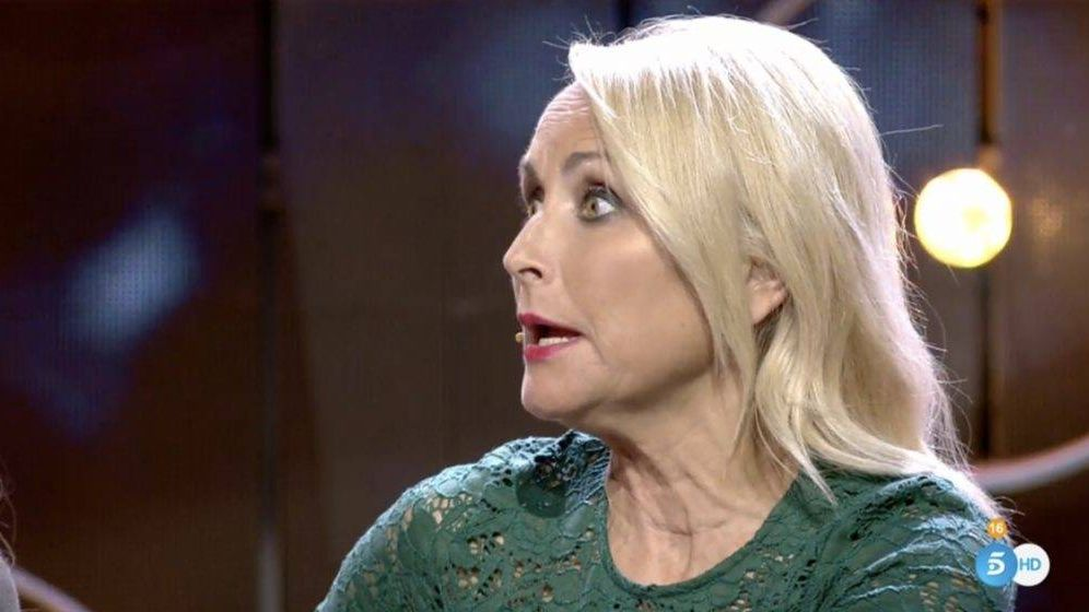 Foto: Lucía Pariente, en 'GH VIP 7'. (Telecinco)