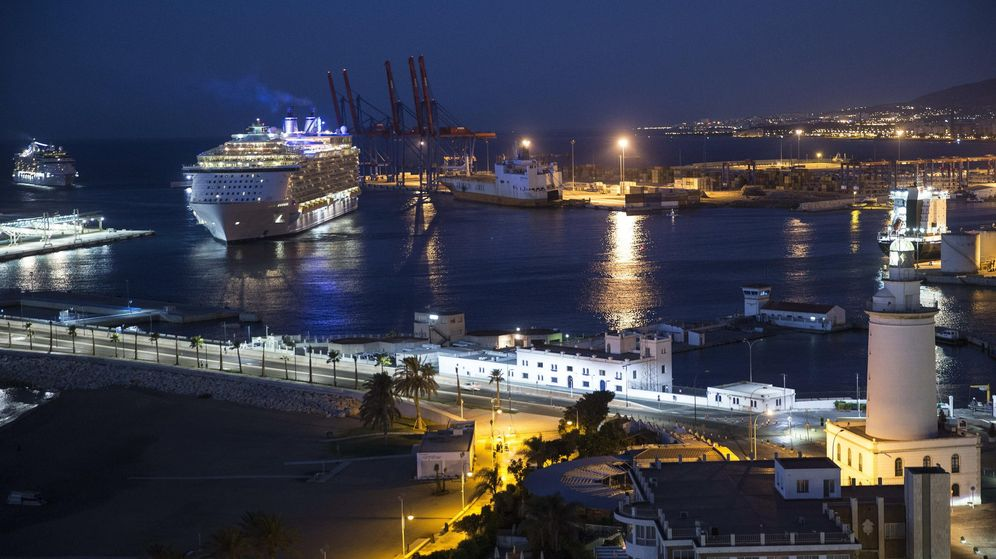 Foto: Puerto de Málaga. (EFE)