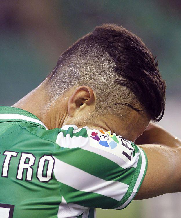 Foto: El jugador del Real Betis Rubén Castro. (EFE)